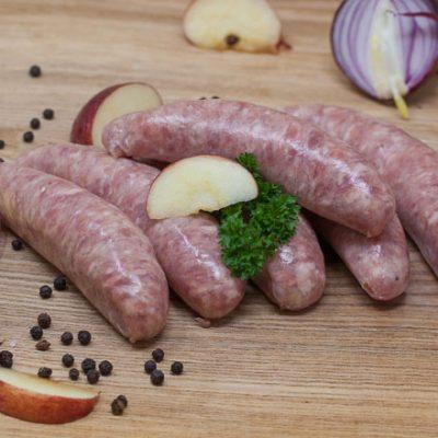 Jurassic-Coast-Farm-Shop-Pork-Pork & Apple-Sausages-IMG-0293