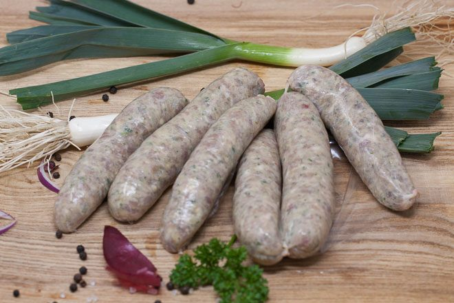 Jurassic-Coast-Farm-Shop-Pork-Pork & Leek-Sausages-IMG-0306