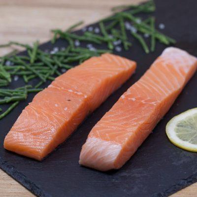 Jurassic-Coast-Farm-Shop-Fish-Salmon Fillet-IMG-1136