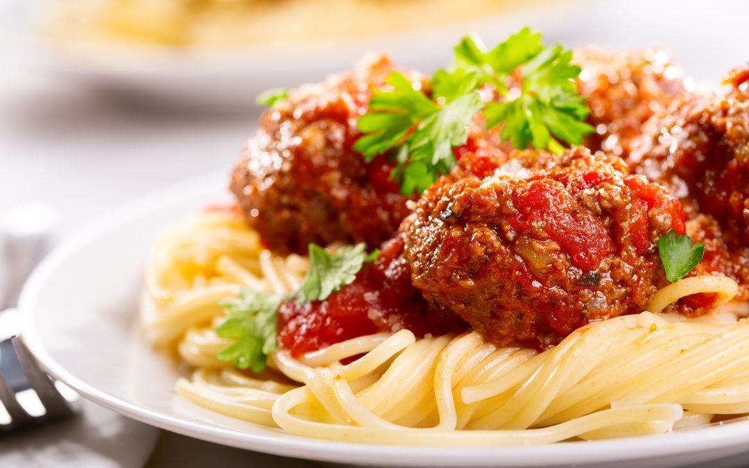 Aberdeen Angus Meatballs with fresh Tomato Sauce